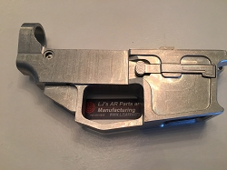AR15 80% 9mm Billet lower receiver - works for all GLOCK  9mm, .40 S&W, .357 SIG magazines -raw